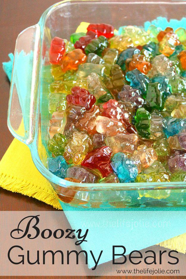 Vodka Gummy Bears | 21 Boozy Treats To Make For A Bachelorette Party