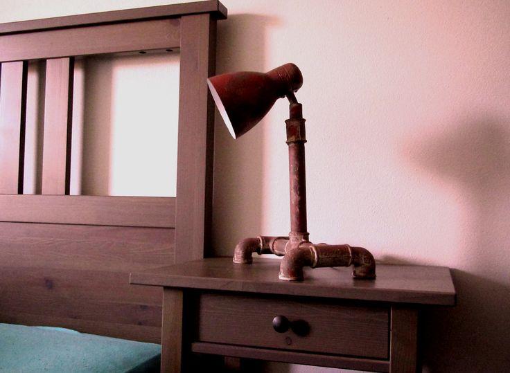 Luxusní industriální lampička