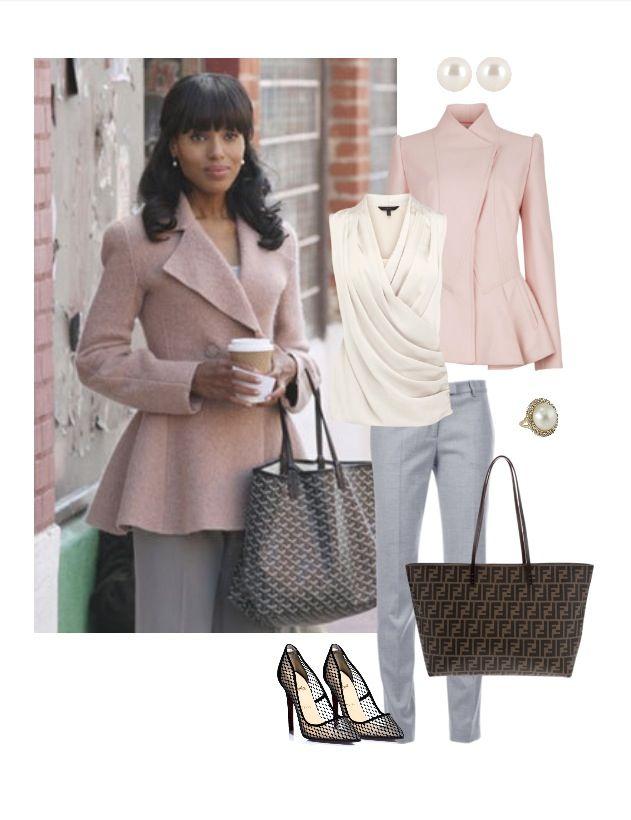 Kerry Washington >> Olivia Pope - love the feminine and classy look!