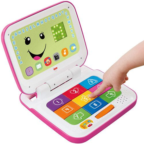Fisher-Price Smart Stages Laptop in Pink