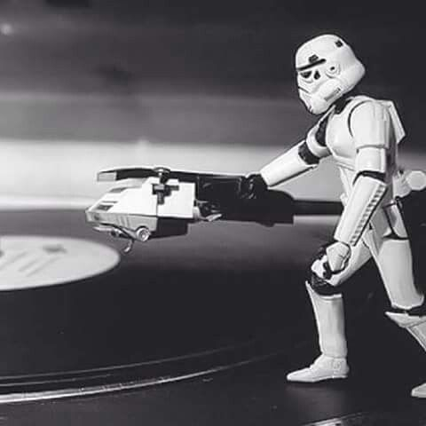 """ Think this groove is from the dark side lord vader. """