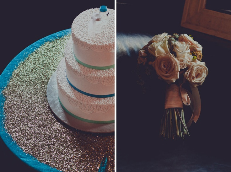 Artrageous Desserts and Mokara Floral Design....LOVE IT