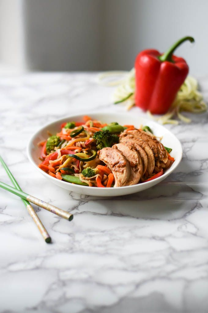 Hey friends, I don't know about you but I really, really love noodle dishes and am always excited to add them to the menu for lunch or dinner. Of course, they can be pretty heavy sometimes so that's why I love to freshen them up with lots of...