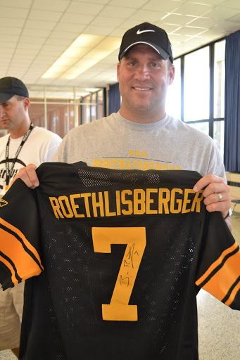 """Benjamin Todd """"Ben"""" Roethlisberger, Sr., nicknamed """"Big Ben,"""" is an American football quarterback for the Pittsburgh Steelers of the National Football League. He was drafted by the Steelers in the first round in the 2004 NFL Draft."""
