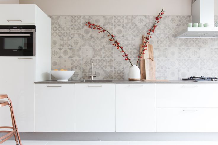 Achterwand Keuken Over Tegels : over Achterwand Tegel op Pinterest – Keuken Terugspatten, Tegel en