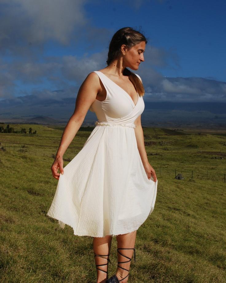 72 best vegan wedding dresses looks images on pinterest for Organic cotton wedding dress