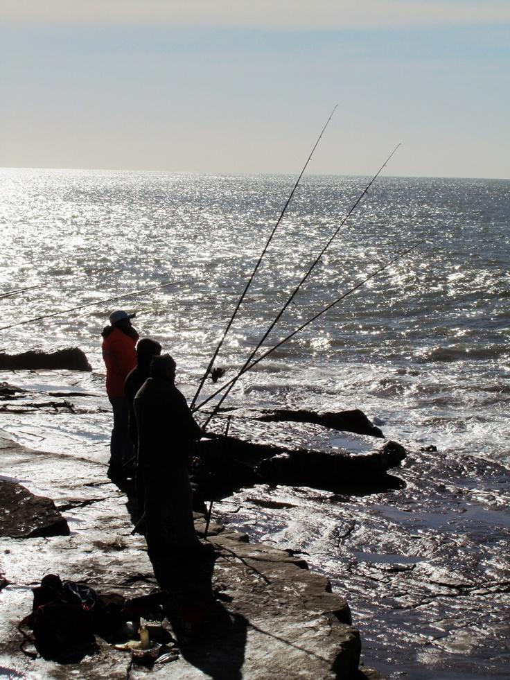 Pescadores. Mar del Plata. Argentina.
