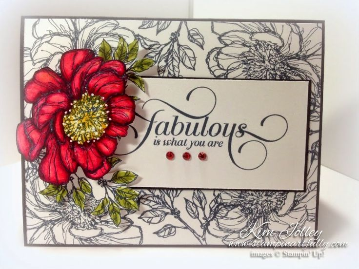 Rubber Stamp Card Making Ideas Part - 36: Stampin Artfully - SU - Bloom With Hope, Million U0026 One
