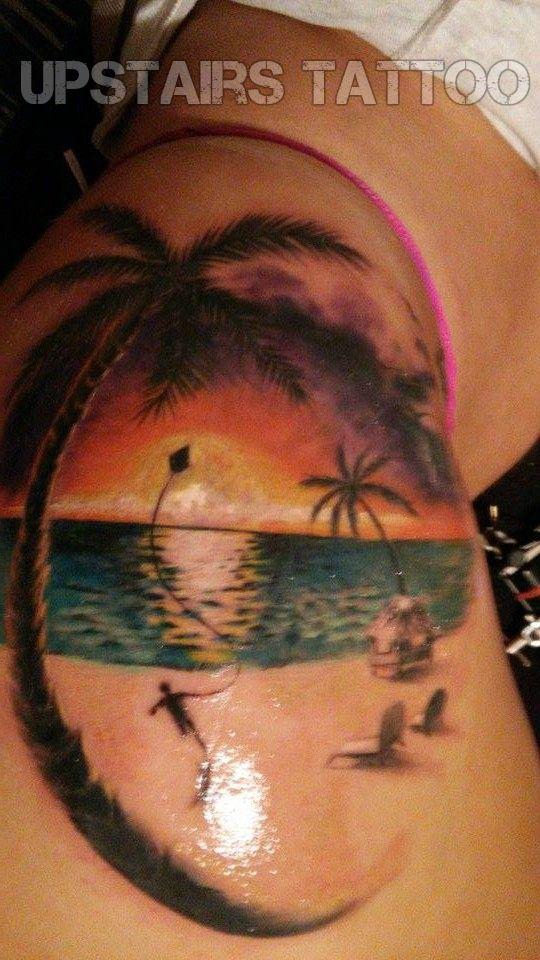 color tattoo done by Bizduianu Mihai