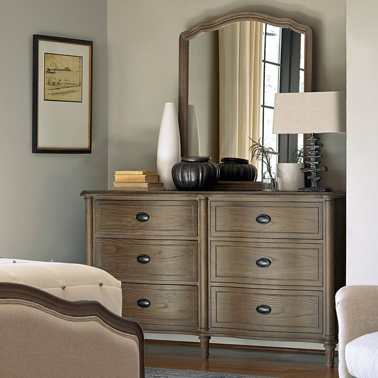 Universal Furniture Devon 6 Drawer Dresser With Optional Mirror From Lake