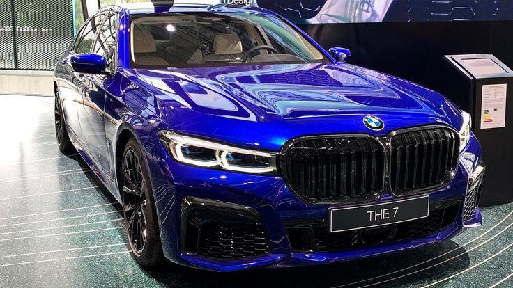 BMW 7Series MSport (2020) Individual in San Marino Blue