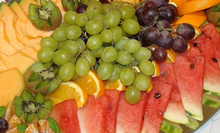 Owoce na deser