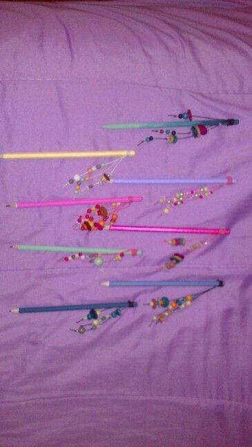 Lápices originales y únicos