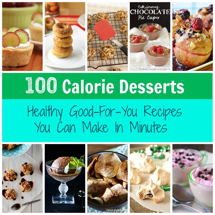 100 Calorie Desserts You Can Make In Minutes