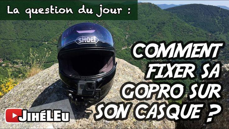 #QUESTION 10 - COMMENT FIXER SA GOPRO SUR UN CASQUE MOTO ?