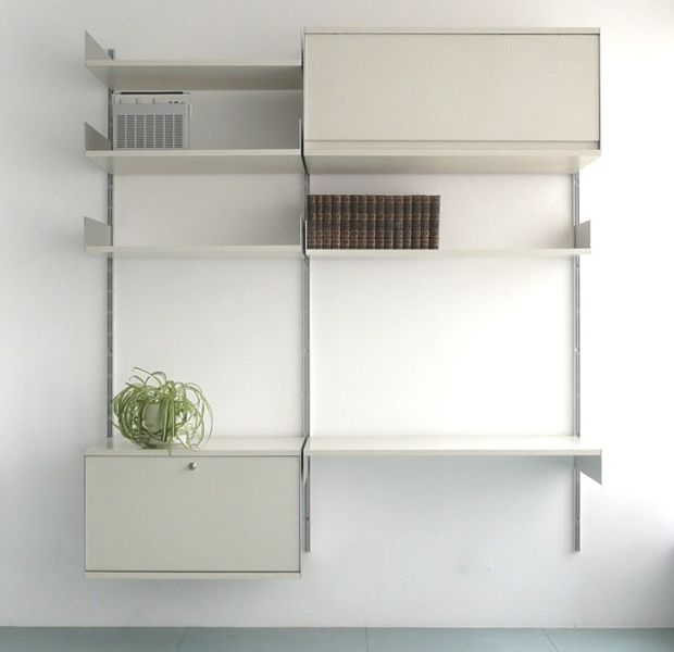 606 Universal Shelving System Designed by Dieter Rams