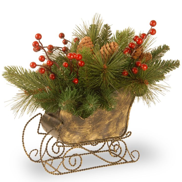 10 decorative collection long needle pine cone sleigh by for Long pine cones