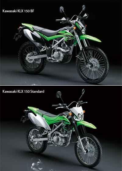 Kawasaki KLX 150 2015: Standard & BF