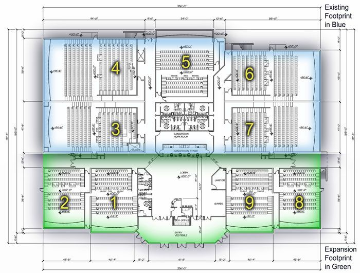 17 best multiplex images on pinterest movie theater for Multiplex floor plans