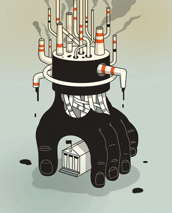 Recent Work by Harry Campbell, via Behance