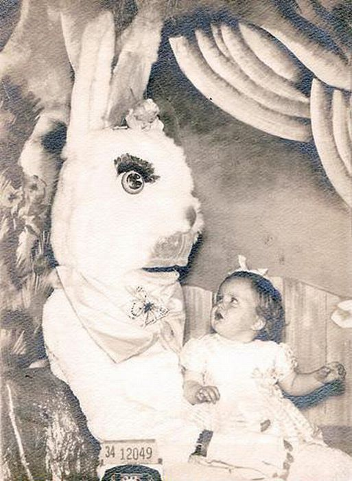 Ok, finally I'm beginning to see a link between the Easter Bunny and Easter Island. And I'm not liking what I see.