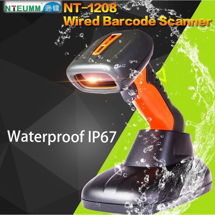 39.60$  Buy here - http://ali4il.shopchina.info/go.php?t=32736269402 - Free Shipping!NTEUM NT-1208 Laser Wired Barcode Scanner USB Waterproof Barcode Reader Portable Handy 1D Barcode Scanner W/Stand 39.60$ #buymethat