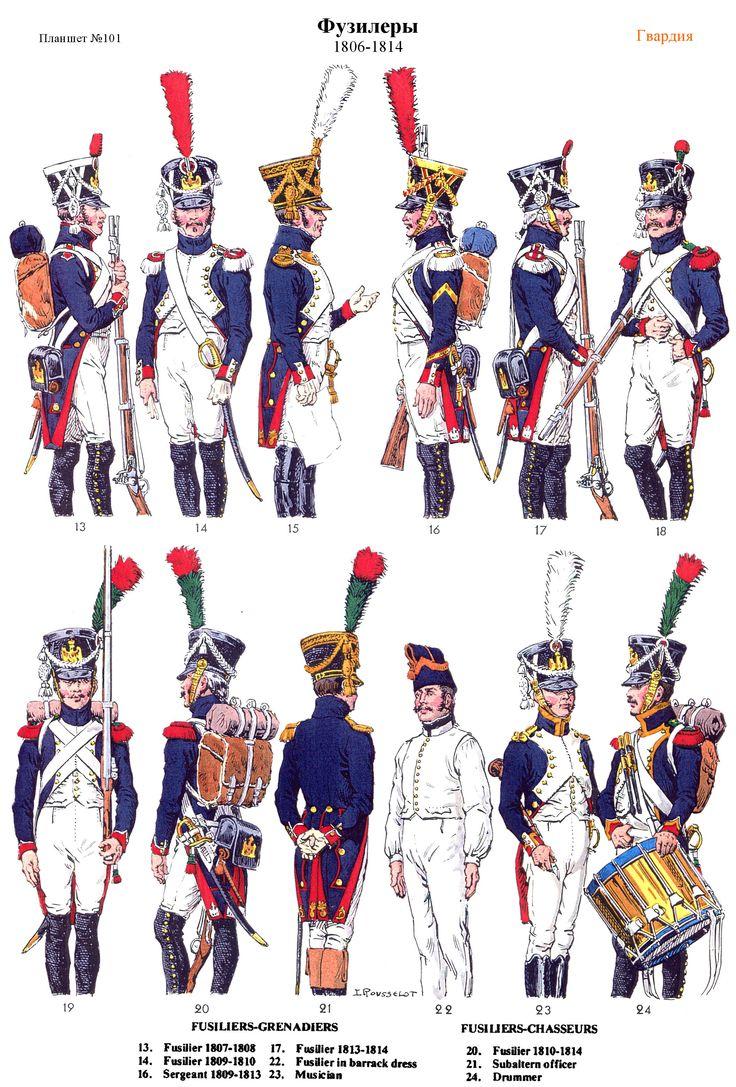 Fusiliers 1806-1814 (pl 101) 2