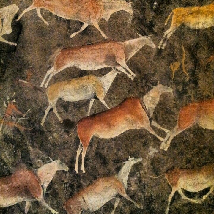 Rock art from Southern Africa depicting Eland