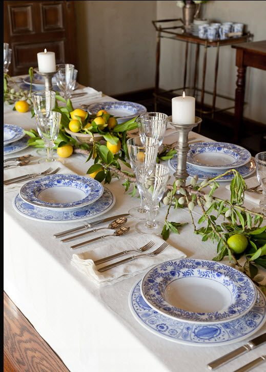 5283 best images about decorating table settings for How to set a beautiful dinner table
