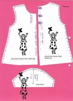 Patrones Para Vestidos De Muñecas