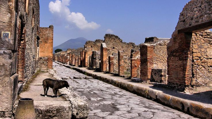 Remains of Pompeii - Italy