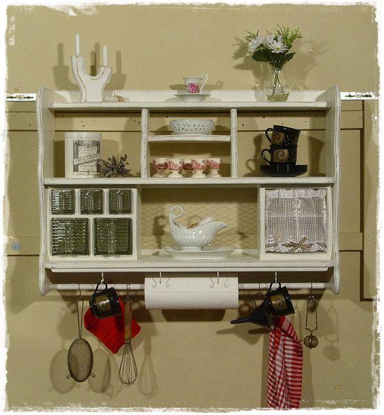 591 best Vintage, Shabby chic, Regal, Möbel, Küche, Kitchen ...
