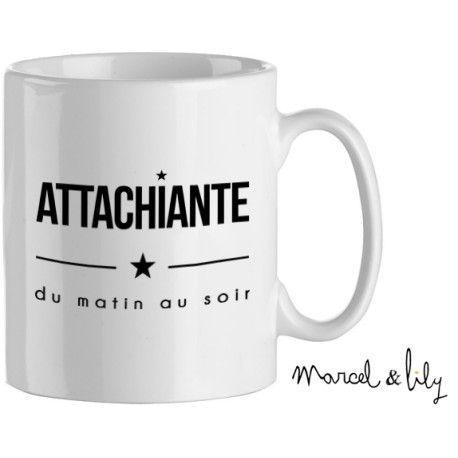 """Mug """"Attachiante"""""""