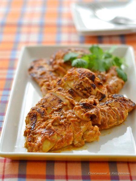 フライパンで!鶏むね肉のタンドリーチキン by 西山京子/ちょりママ ...