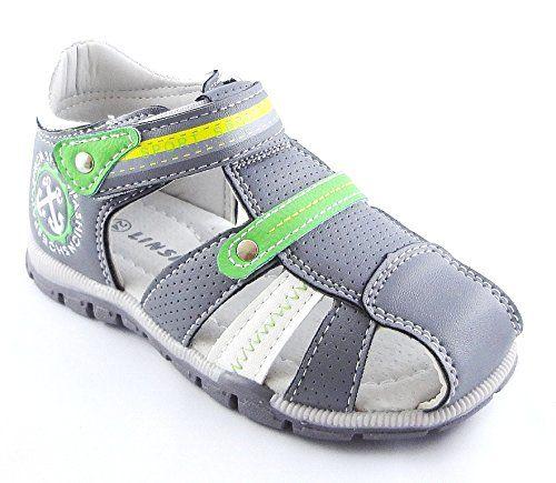 JUNGEN SCHUHE SANDALETTE GR.21-26 -1251 (24, Grau) - http://on-line-kaufen.de/norn/24-eu-jungen-schuhe-sandalette-gr-21-26-1251
