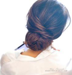 2-Munite Attractive Bun Hairtsyle for Women