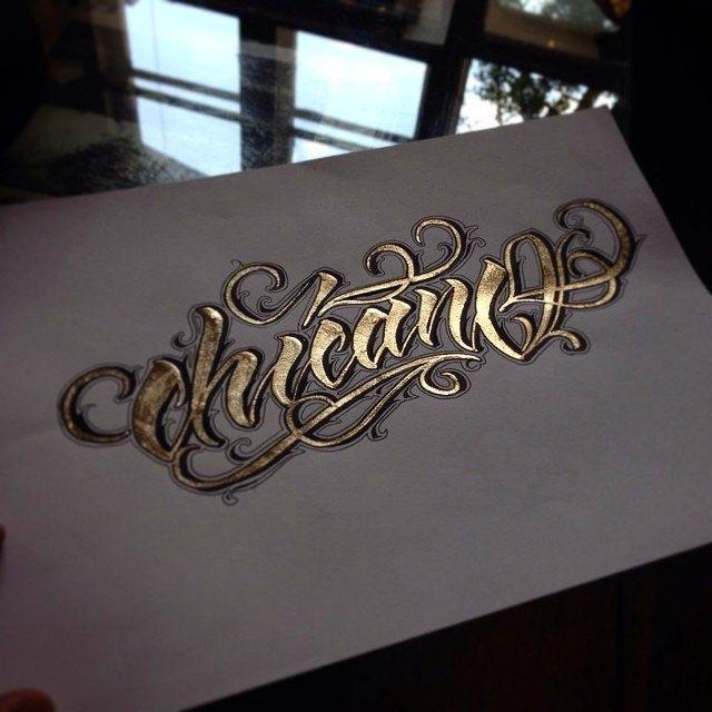 Nowe zabawy. #wlk #gold #chicano #letters #golden #brushpen #handlettering #hand #goodtype #thedailytype #typespire #typographyinspired #typography #rnigang #rocknink #rnicrew #fun #art #caligritype #calligraphy #calli #custom #krakow | Flickr - Photo Sharing!