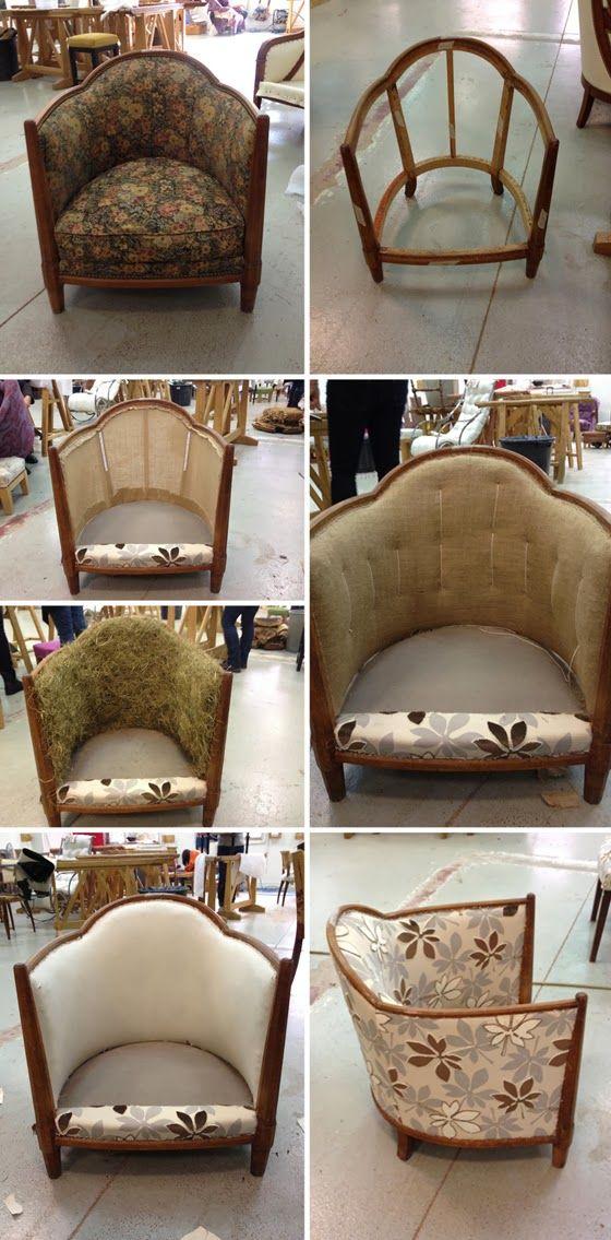 L'atelier de la Marquise : fauteuil tonneau