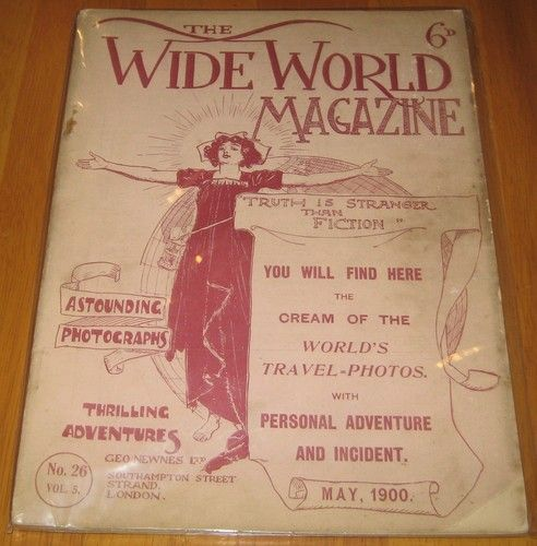 THE Wide World Magazine VOL 5 Number 26 1900 | eBay