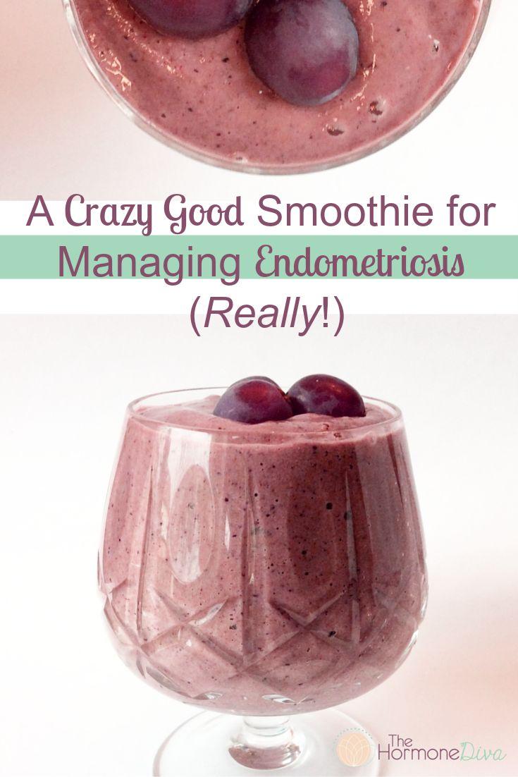 A Crazy Good Smoothie For Managing Endometriosis (Really!) | The Hormone Diva