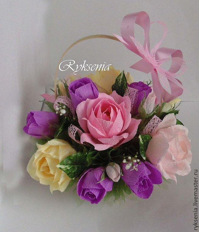 """Купить Букет из конфет """"Роза ветров"""" - букет цветов, корзина с цветами, подарок на день рождения"""