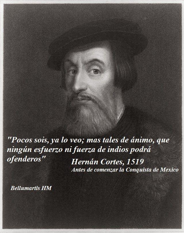ORACIÓN DE HERNÁN CORTES A LOS SOLDADOS. BELLUMARTIS HISTORIA MILITAR
