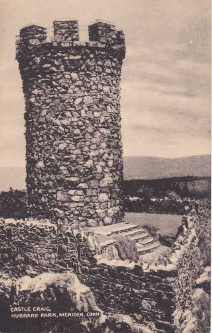 Castle Craig Tower - Meriden, Connecticut