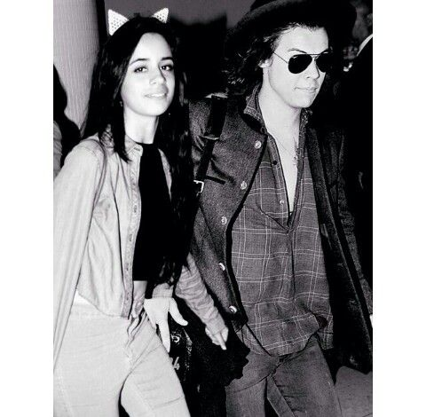 Camila Cabello and Harry Styles manip. It'll never be real but love em both I ship it