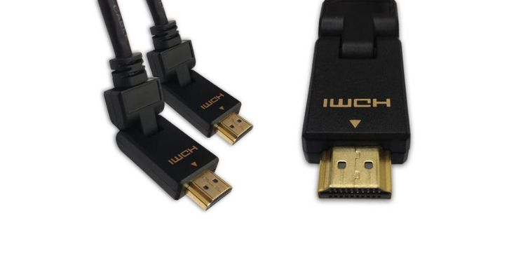 Check out this Oober cool Lucido HDMI Cable with an 180-degree adjustable connector. This is perfect for those tight corners where space is limited or when a certain angle is needed. Buy here: https://www.ooberpad.com/collections/cables/products/lucido-hdmi-cable-2-meter-with-180-degree-adjustable-connector