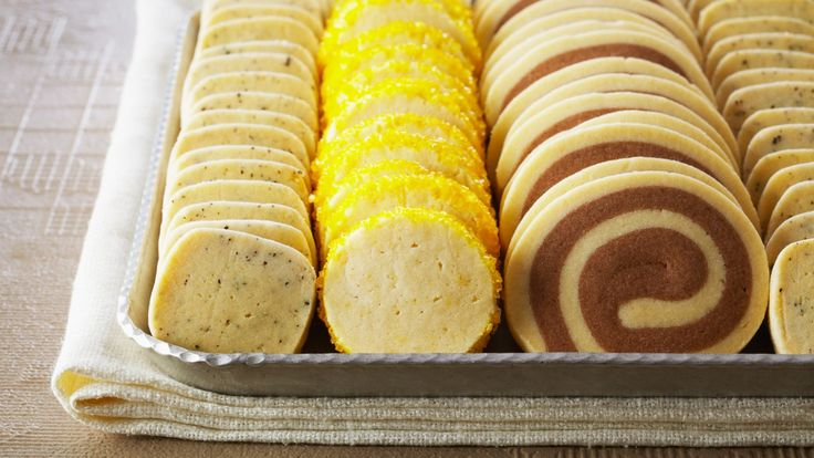 Trio de biscuits au citron, au thé Earl Grey et au chocolat   Zeste