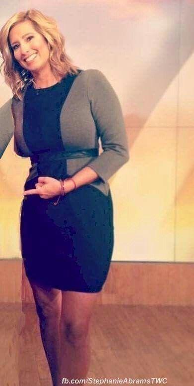 Stephenie abrams in black pantyhose
