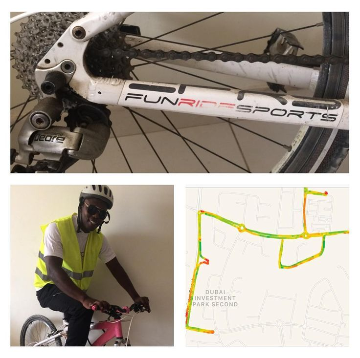3 days countdown for the #Dubai30x30 #dubaifitnesschallenge. Doing the real #bicycle 14KM challenge #ronncierge #mygladiatoride #fittness #greenenergy #ecofriendly #cycling