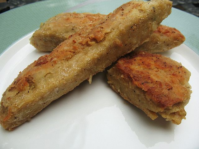 Chicken-y Seitan Cutlets by myveggiekitchen, via Flickr