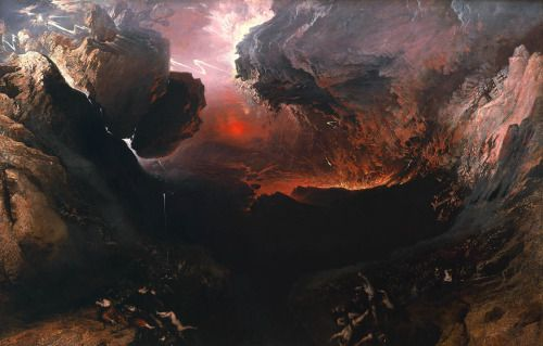 John Martin, The Great Day of His Wrath 1853